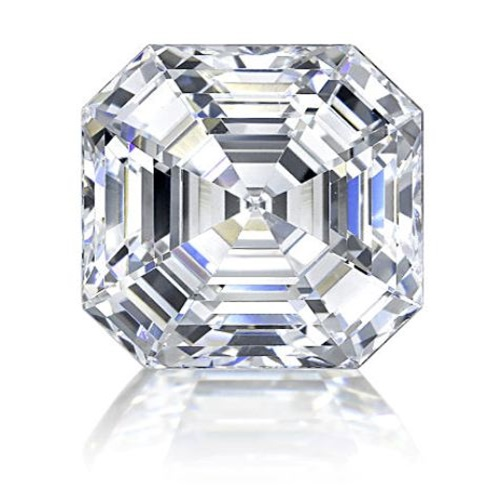 created diamond andromeda lab pink asscher royal ct flawless top simulant cut