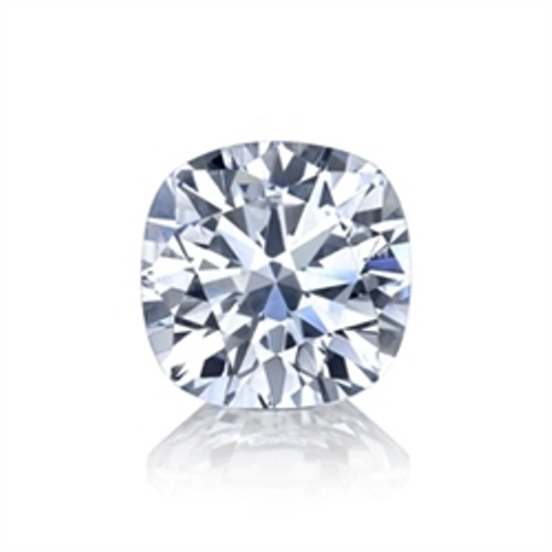 Cushion cut diamond simulant loose stone from Sally's Desert Diamonds