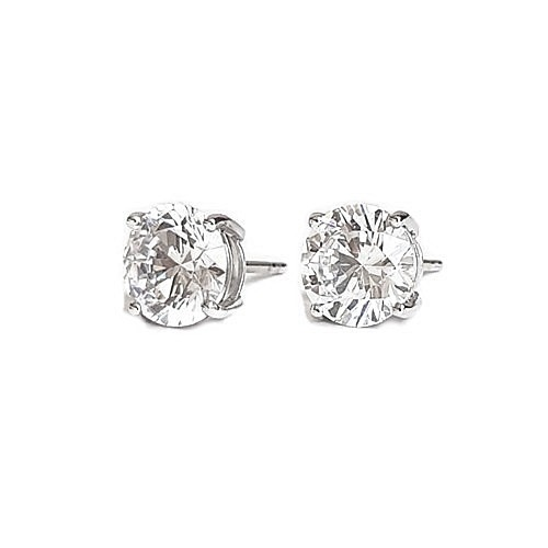 classic-diamondsimulant-stud-earrings-silver