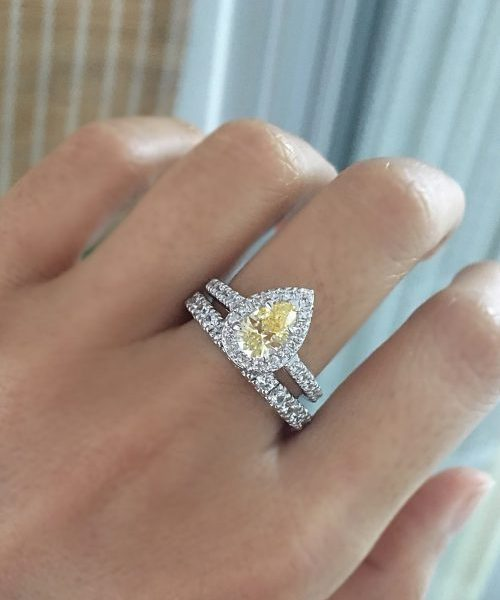 halo-ring-pearshape-sterlingsilver