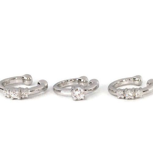 Mixed-helix-diamond-cuffs